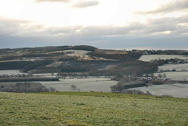 Ashurst Beacon on frosty morning