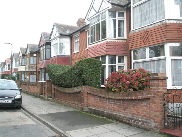 Elegant hedge in Kipling Road