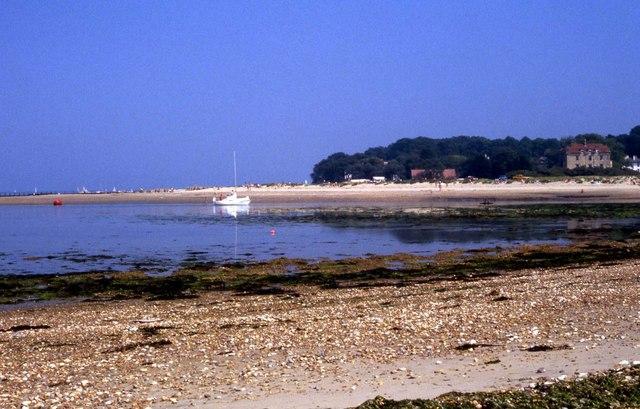 The beach on The Duver