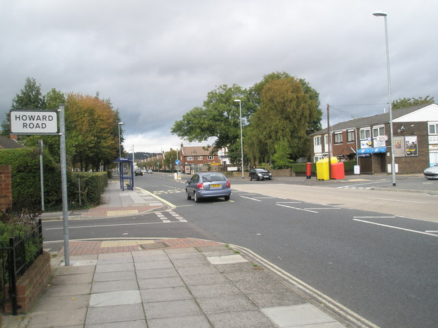 Junction of  Howard Road and Northern Parade