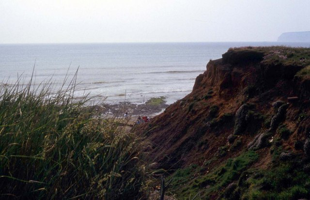 Path to the beach at Compton Chine