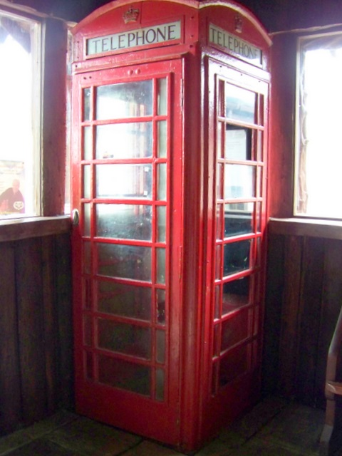 Telephone box, Spittal of Glenshee