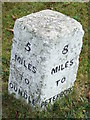 TL0893 : Old Milestone by Keith Evans