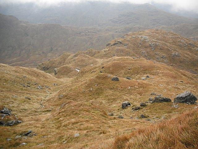 South ridge/flank of Beinn Chabhair