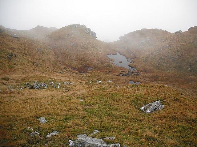 South ridge, Beinn Chabhair