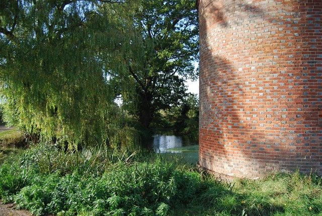 Pond by the Oast, Leigh Park Farm