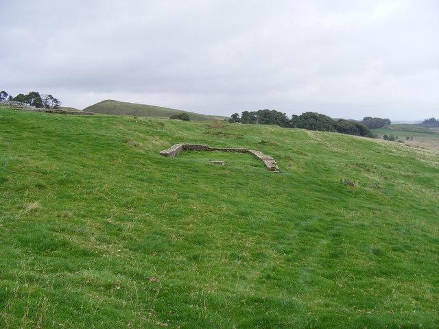 The Murder House outside Housestead's Roman Fort