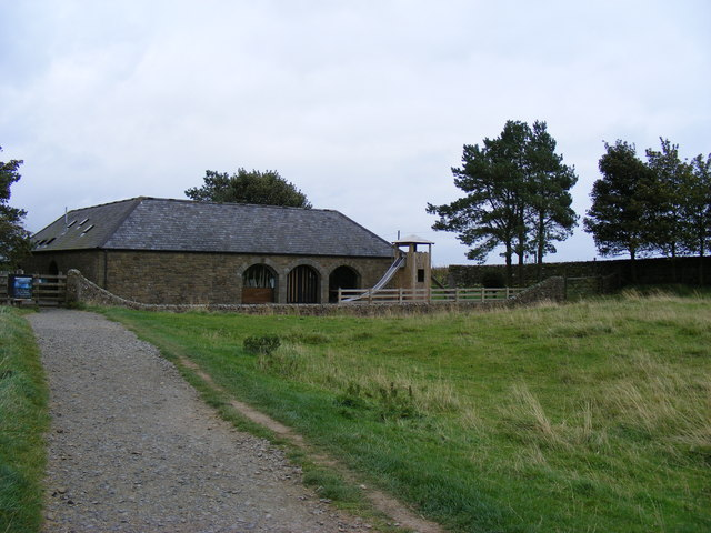 National Trust Building at Housestead's Roman Fort