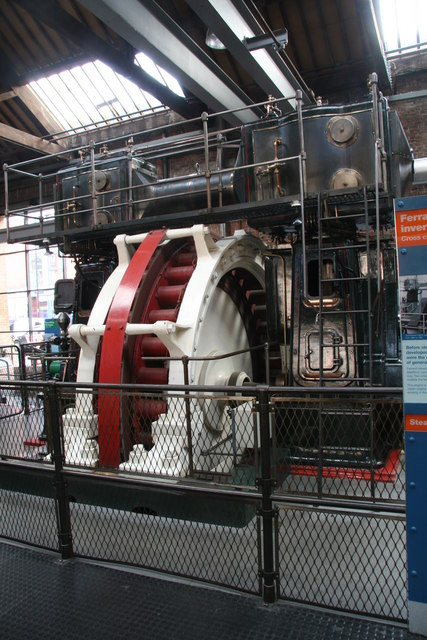 Ferranti engine, Museum of Science & Industry