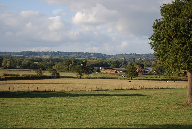 View across to Leigh Park Farm