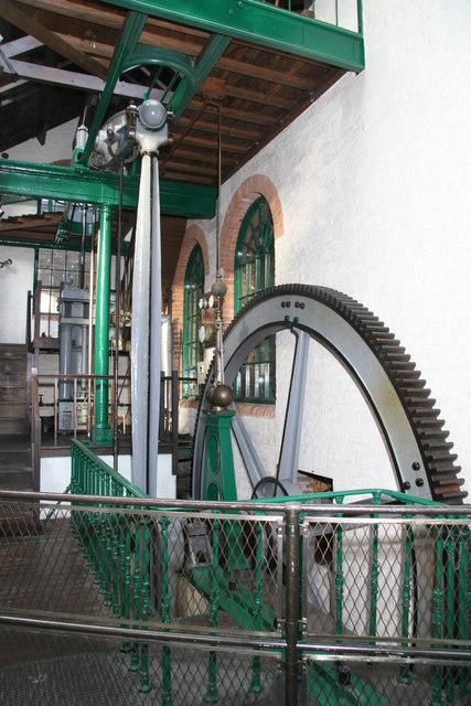 The Haydock Colliery beam engine.