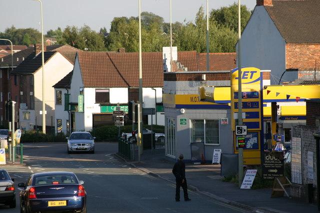 Lichfield Street, JET Petrol Station