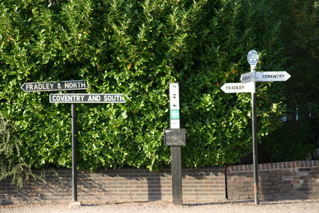 Fazeley Canal Signs