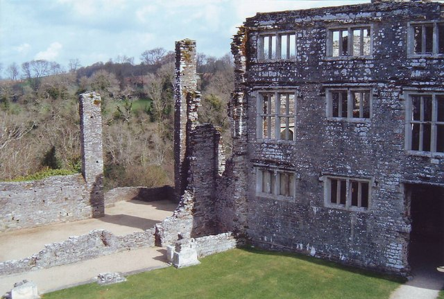 Berry Pomeroy Castle ruins, Devon