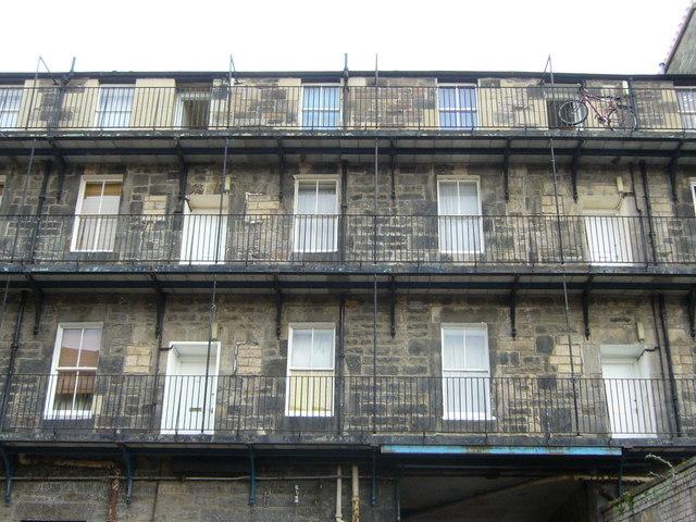 Industrial dwellings, off Leith Walk