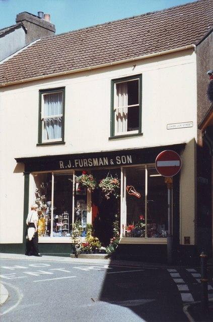 Hardware store in Liskeard, Cornwall