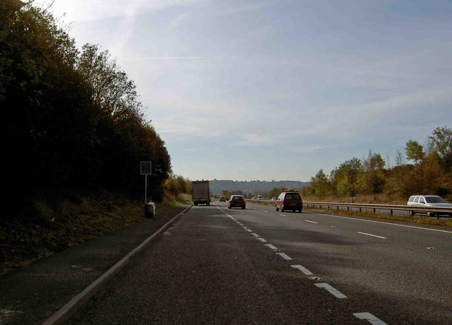 A38 dual carriageway lay-by heading south towards Derby