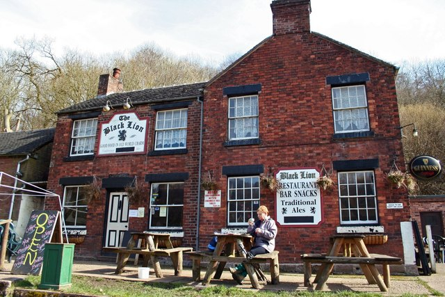 The Black Lion, Consall Forge