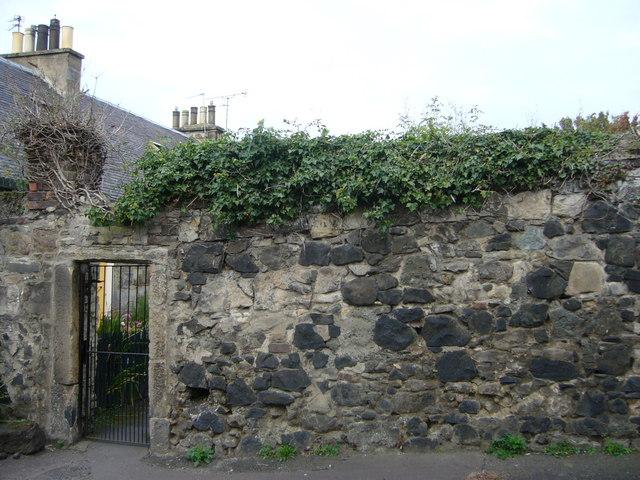 Wall in Arthur Street Lane