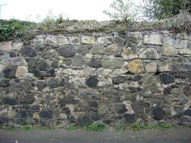 Old wall, Arthur Street Lane