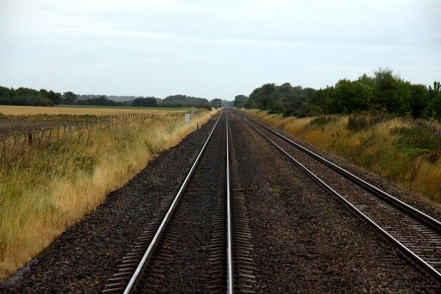 The line down to Swindon