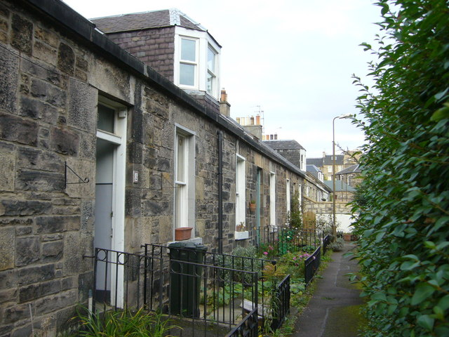 Pilrig Cottages, off Arthur Street Lane