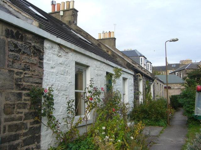 Pilrig Cottages, off Arthur Street Lane