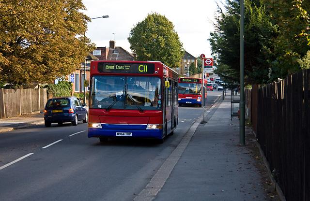 C11's on Claremont Road