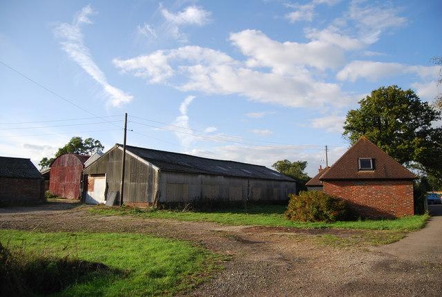 Farm buildings, Price's Farm