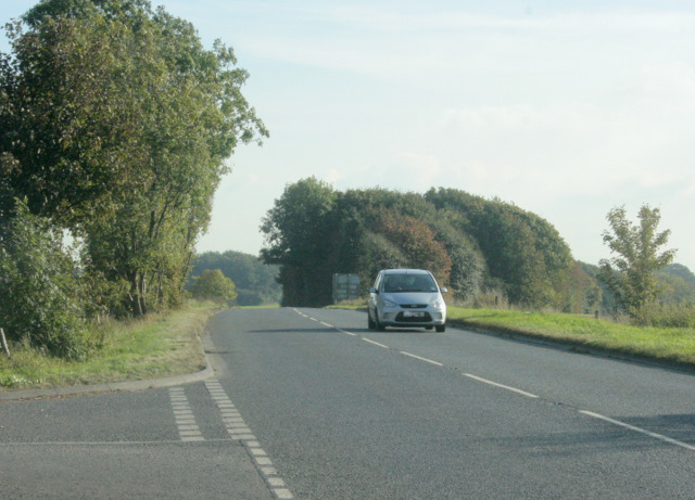 2009 : A350 heading south near Higher Pertwood