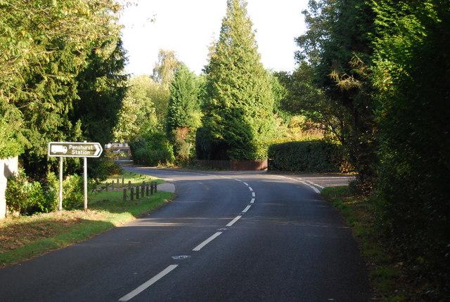Junction of the B2027 & Penshurst Rd