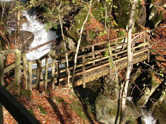 Footbridge Rydal Beck