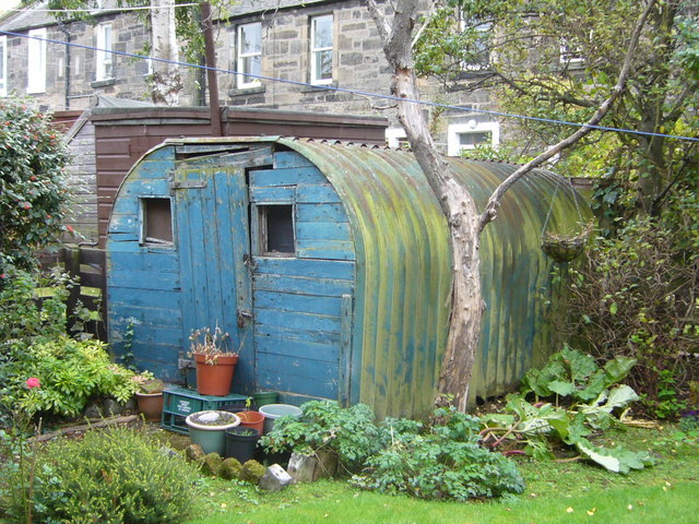 Anderson shelter, Shaws Street, Pilrig