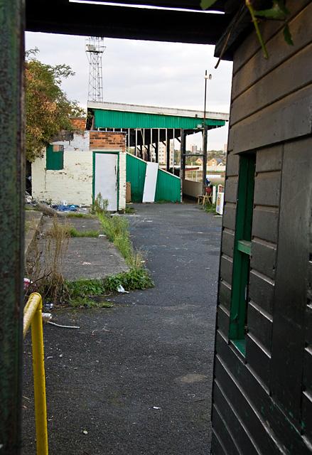 Hendon Football Club - Awaiting Demolition