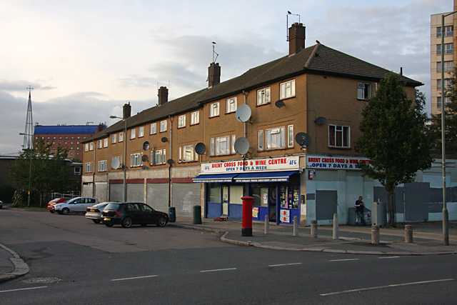 Shops on Claremont Way