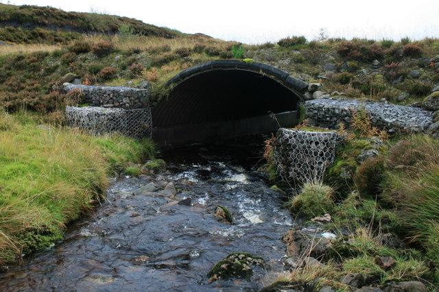 The bridge over Allt Meall na Teanga