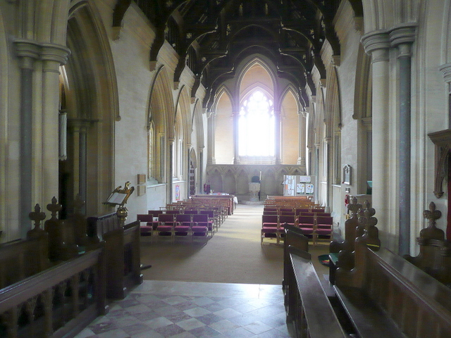 St. Andrew's church, Toddington - interior