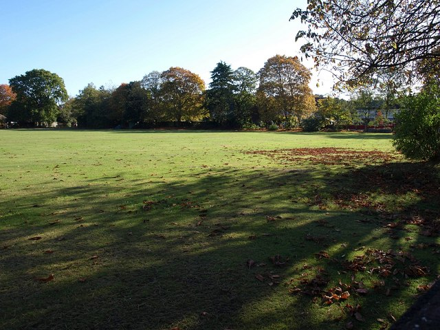 Playing field, Rothesay Road
