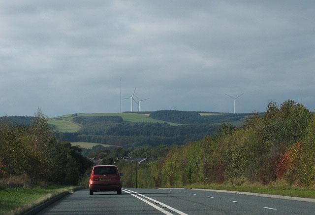 A691, Durham to Consett