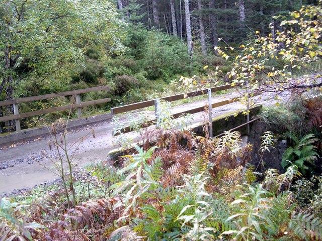Road bridge over Allt na Bodachan