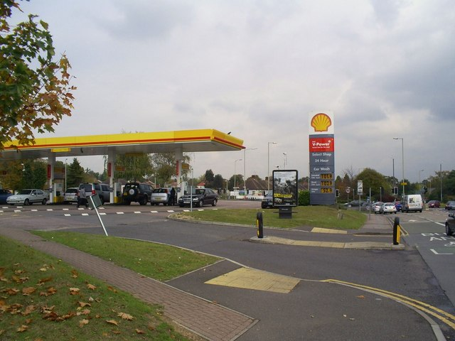 Shell Filling Station, Dome Roundabout, Garston