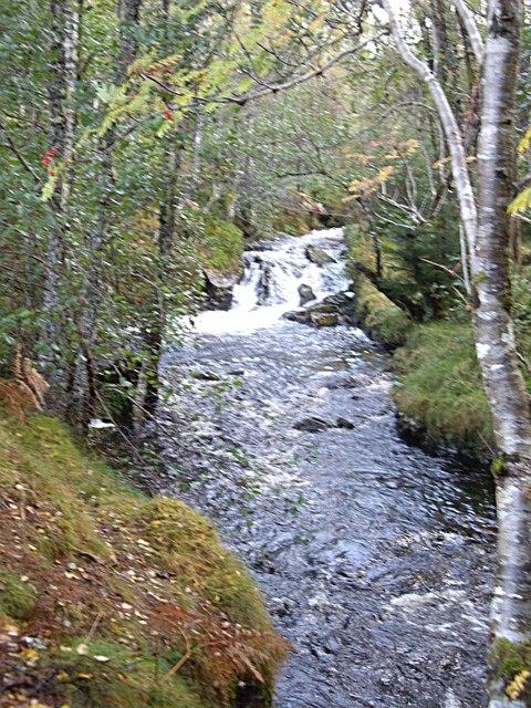 Upstream Allt na Boadachan