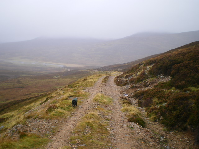 Down in Glen Tarf on a gloomy afternoon