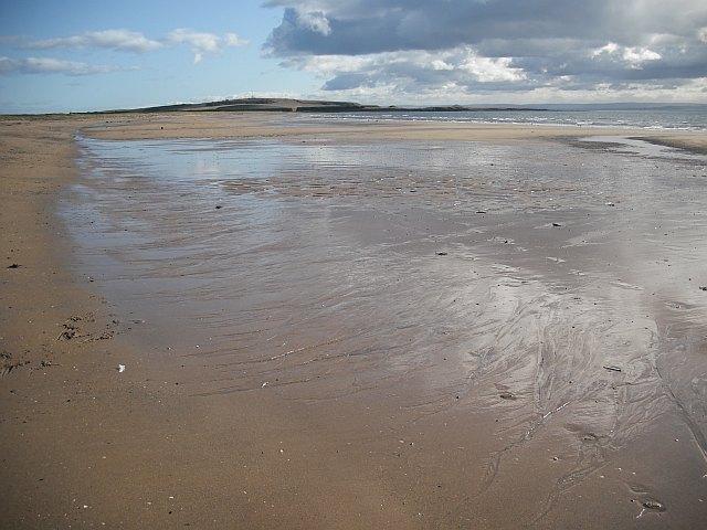 Beach, Dumbarnie Links