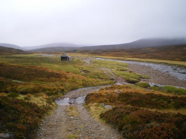 Hut in Glen Tarf
