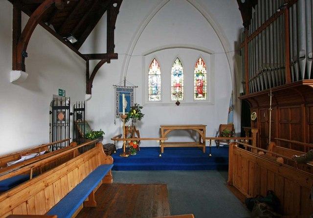 St Catherine, Manston, Kent - Chancel
