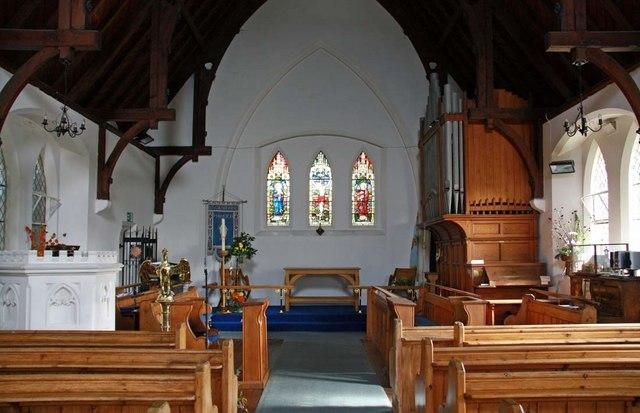 St Catherine, Manston, Kent - East end