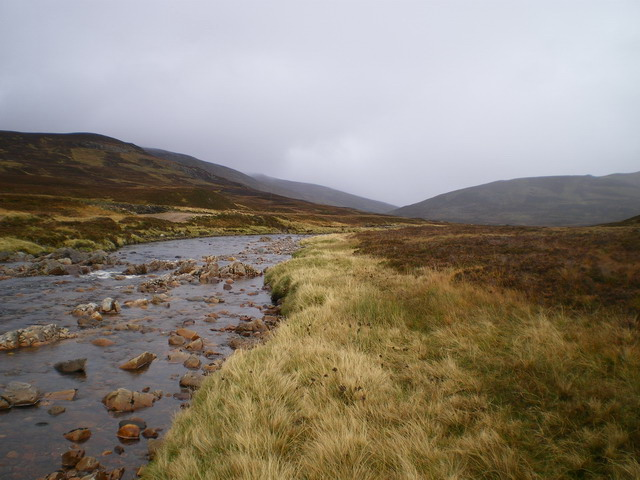 South bank of the Tarf Water