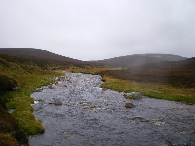 The Tarf Water near Sròn Dubh