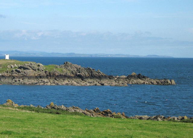 Entrance to the Isle of Whithorn Bay